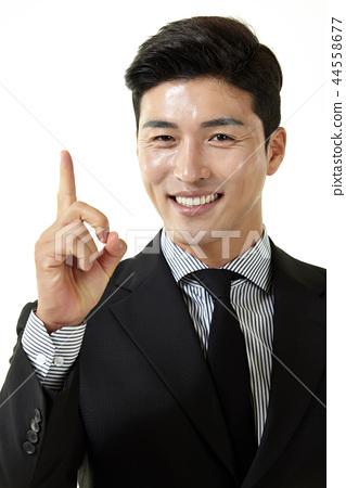 한국인,남자,비지니스,정장 44558677