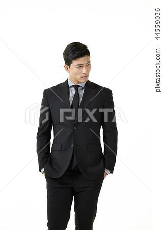 한국인,남자,비지니스,정장 44559036