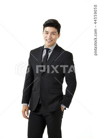 한국인,남자,비지니스,정장 44559058
