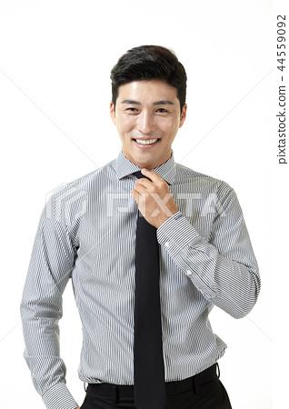 한국인,남자,비지니스,정장 44559092