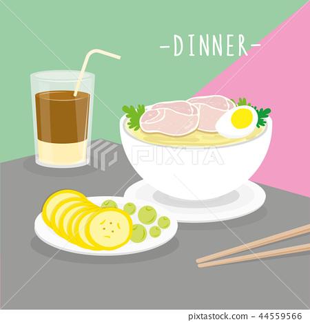 Food Meal Dinner Dairy Eat Drink Menu vector 44559566