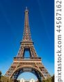 Tour Eiffel paris tower symbol close up detail 44567162