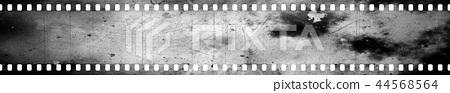鮮豔細緻的老舊底片漏光特寫材質紋理背景,俯視圖(高分辨率 2D CG 渲染∕著色插圖) 44568564