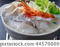냄비 요리 해물 전골 가열 중 44570000