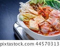 kimchi hotpot, pot, food cooked in a pot 44570313
