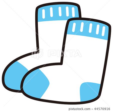 可爱的袜子 44570916