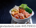 kimchi hotpot, pot, food cooked in a pot 44570933