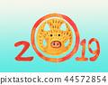2019豬賀卡 44572854