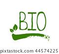bio, green, label 44574225