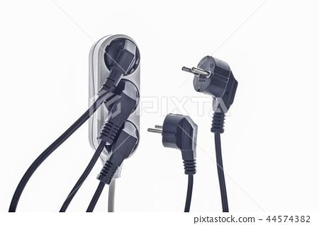 插座,插頭,電線 44574382