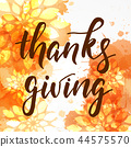 Thanksgiving abstract background 44575570