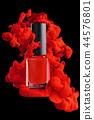 Red nail polish. 44576801