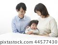 family, white background, families 44577430
