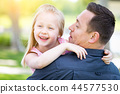 child, girl, father 44577530