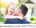 child, girl, father 44577531