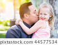 child, girl, father 44577534