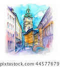 Church Storkyrkan in Stockholm, Sweden 44577679