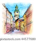 Church Storkyrkan in Stockholm, Sweden 44577680