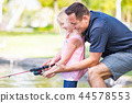 child, girl, father 44578553