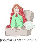 감기 여성 44586118