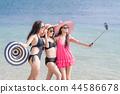 海岸 女性 女 44586678
