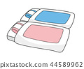 벡터, 이불, 핑크 44589962