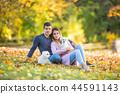 couple, autumn, park 44591143