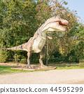 Tyrannosaurus rex big model prehistoric dinosaur 44595299