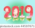 2019豬賀卡 44597671