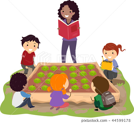 Stickman Kids Teacher Book Cabbage Patch 44599178