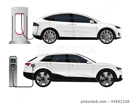 Set of electric SUV  44602186