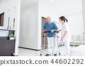 수석 남성 환자, 간병인 재활 44602292