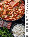 shrimp, rice, soup 44603951