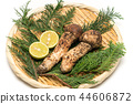 matsutake, autumnal, the taste of autumn 44606872