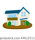 房屋 房子 住宅的 44612511