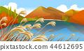 풍경,일러스트 44612695