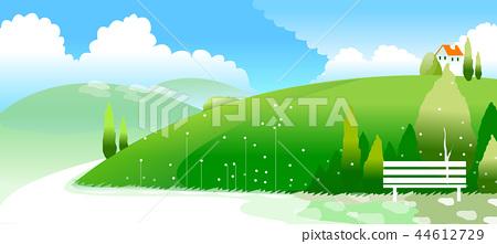 風景,例證 44612729