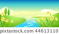 風景,例證 44613110