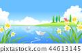 풍경,일러스트 44613145