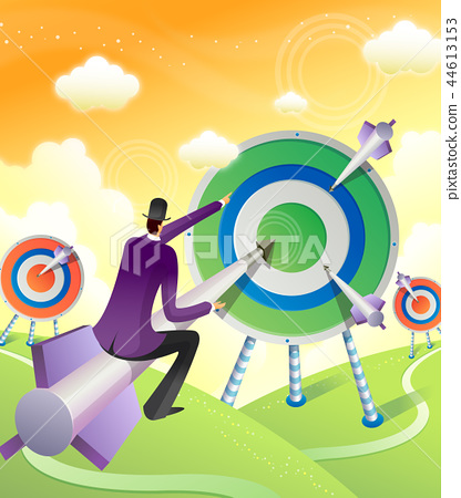 Business, illustration 44613153