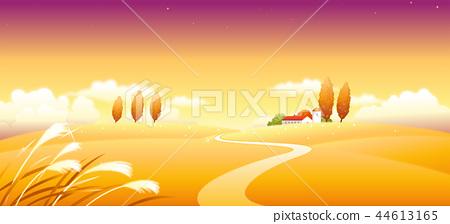 風景,例證 44613165