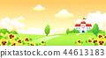 風景,例證 44613183