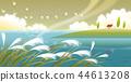 風景,例證 44613208