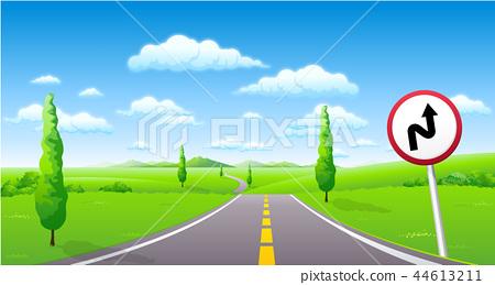 風景,例證 44613211