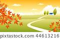 風景,例證 44613216