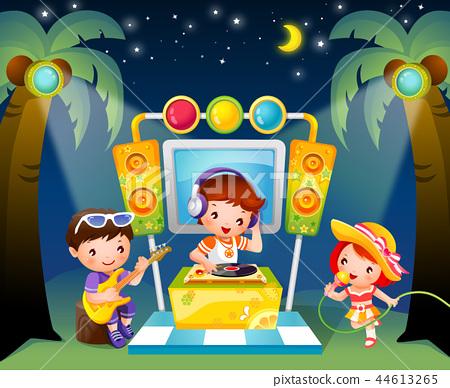 兒童,生活,插圖 44613265