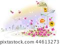 풍경,일러스트 44613273