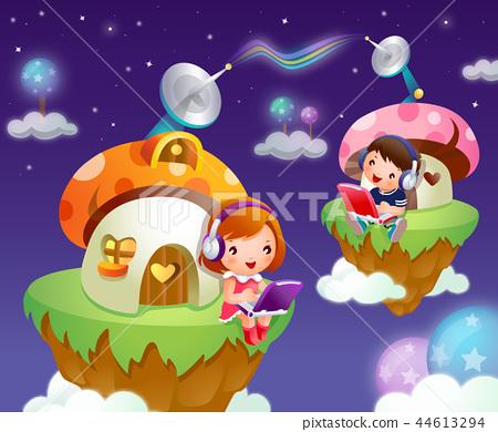 어린이,생활,일러스트 44613294