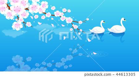 풍경,일러스트 44613305