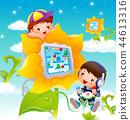 兒童,生活,插圖 44613316